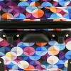 """Elite Luggage 20"""" Carry On Rolling Suitcase - Gem Bubbles - image 2 of 4"""