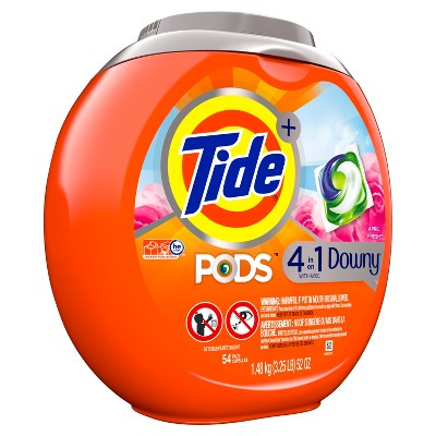 Laundry Detergent: Tide Plus Downy Pods