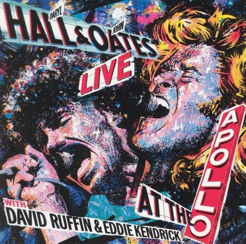 Hall & oates - Live at the apollo with david ruffin (CD) - image 1 of 1
