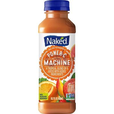 Naked Power-C Machine All Natural Fruit + Boost Vegan Juice Smoothie - 15.2oz