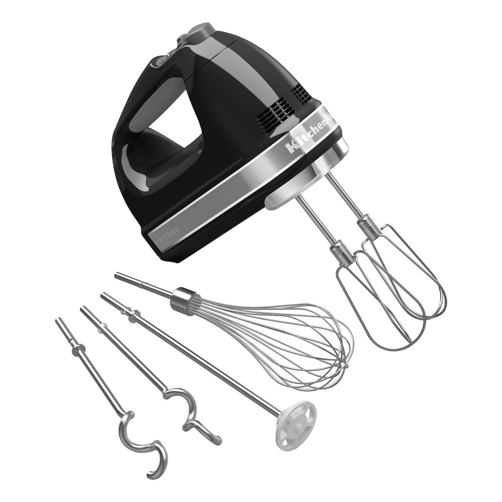 KitchenAid 9 speed Digital Hand Mixer – KHM926, Onyx Black 14905822
