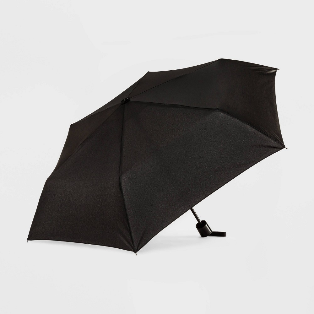 Image of Cirra by Shedrain Compact Umbrella - Black, Adult Unisex
