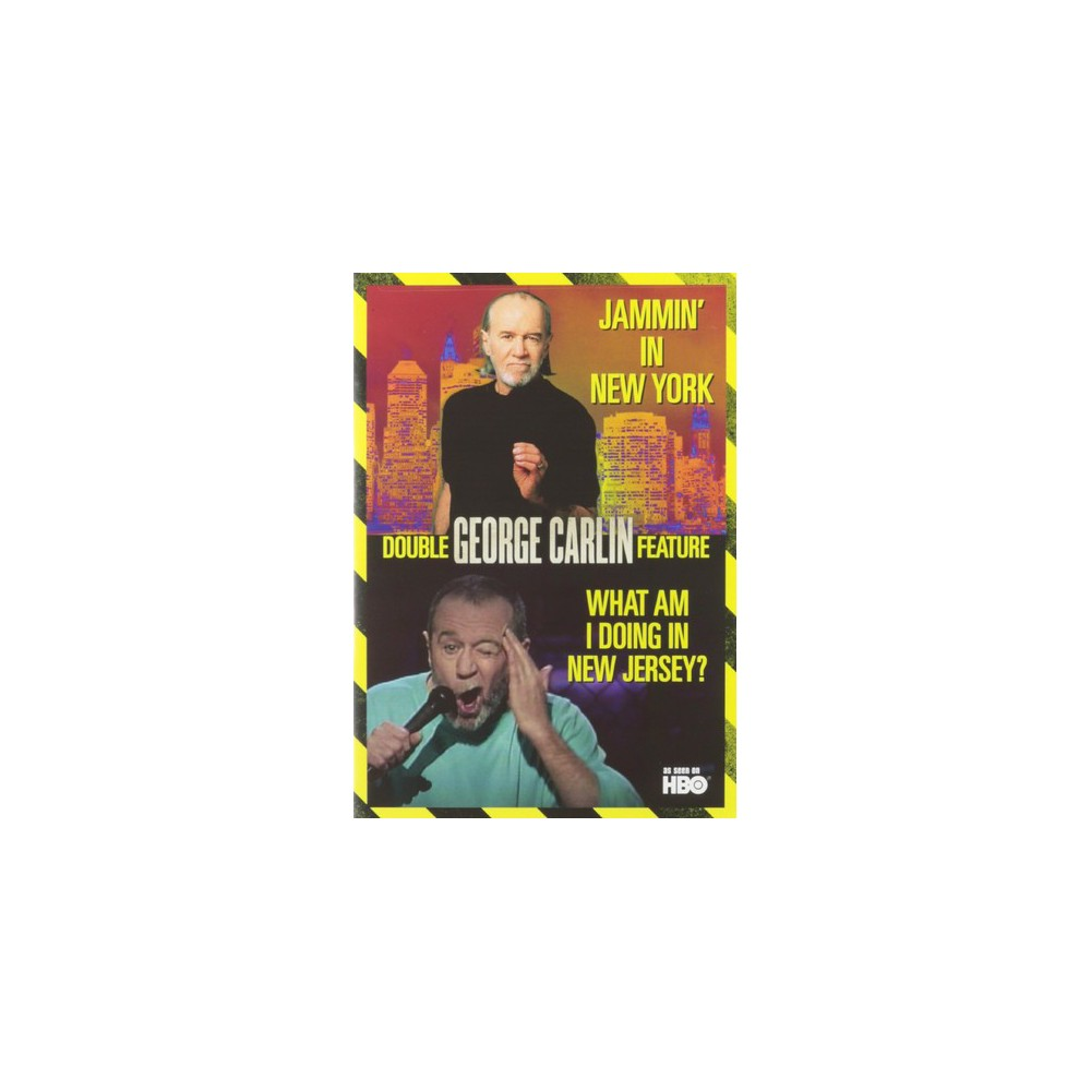 George Carlin:Jammin In Ny/What Am I (Dvd)