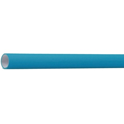 Flameless Paper Roll, 48 Inches x 100 Feet, Electric Blue
