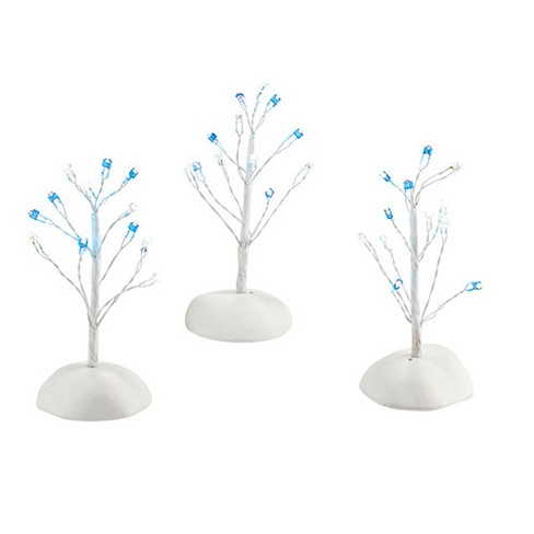 "Department 56 Snow Village ""Twinkle Brite, Blue & White"" Accessory#4030904 - image 1 of 1"