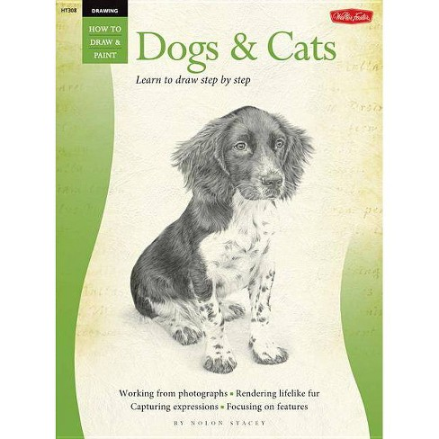 Drawing: Dogs & Cats - by  Nolon Stacey (Paperback) - image 1 of 1