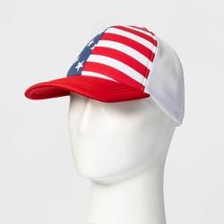 Men's Americana Trucker Baseball Hat - One Size