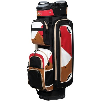 Glove It Women's Signature Metro Color Block Golf Cart Bag with Strap, Multicolored