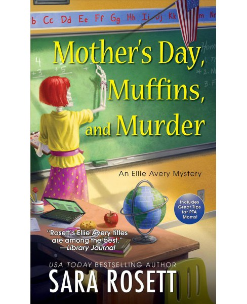 Mother's Day, Muffins, and Murder -  Reprint (Ellie Avery Mysteries) by Sara Rosett (Paperback) - image 1 of 1