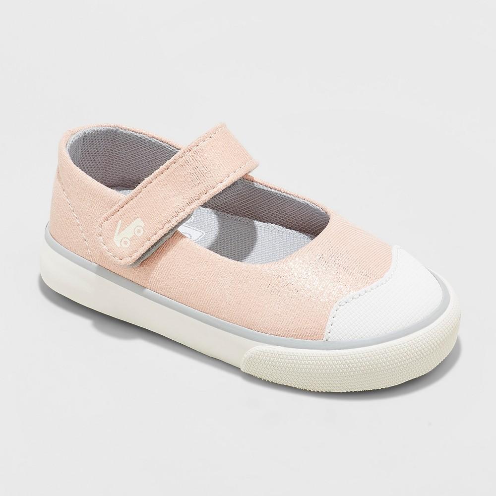 Toddler Girls' See Kai Run Basics Emily Rose Shimmer Mary Jane Shoes - Rose 11, Pink