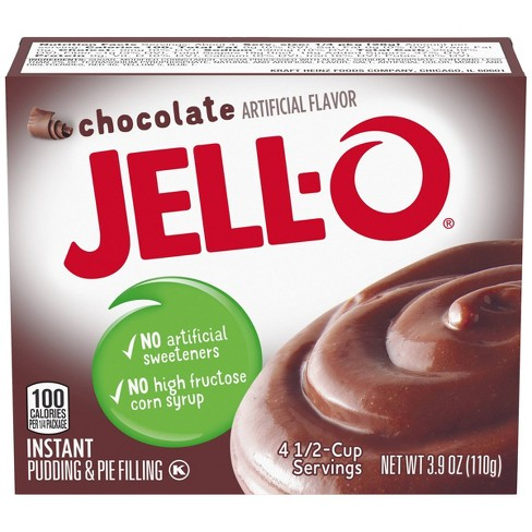 JELL-O Instant Chocolate Pudding & Pie Filling - 3.9oz - image 1 of 4