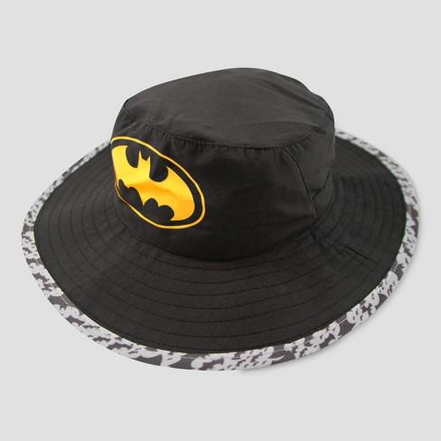 f4560d38a8df9 Toddler Boys  DC Comics Batman Safari Sun Hat - Black One Size   Target