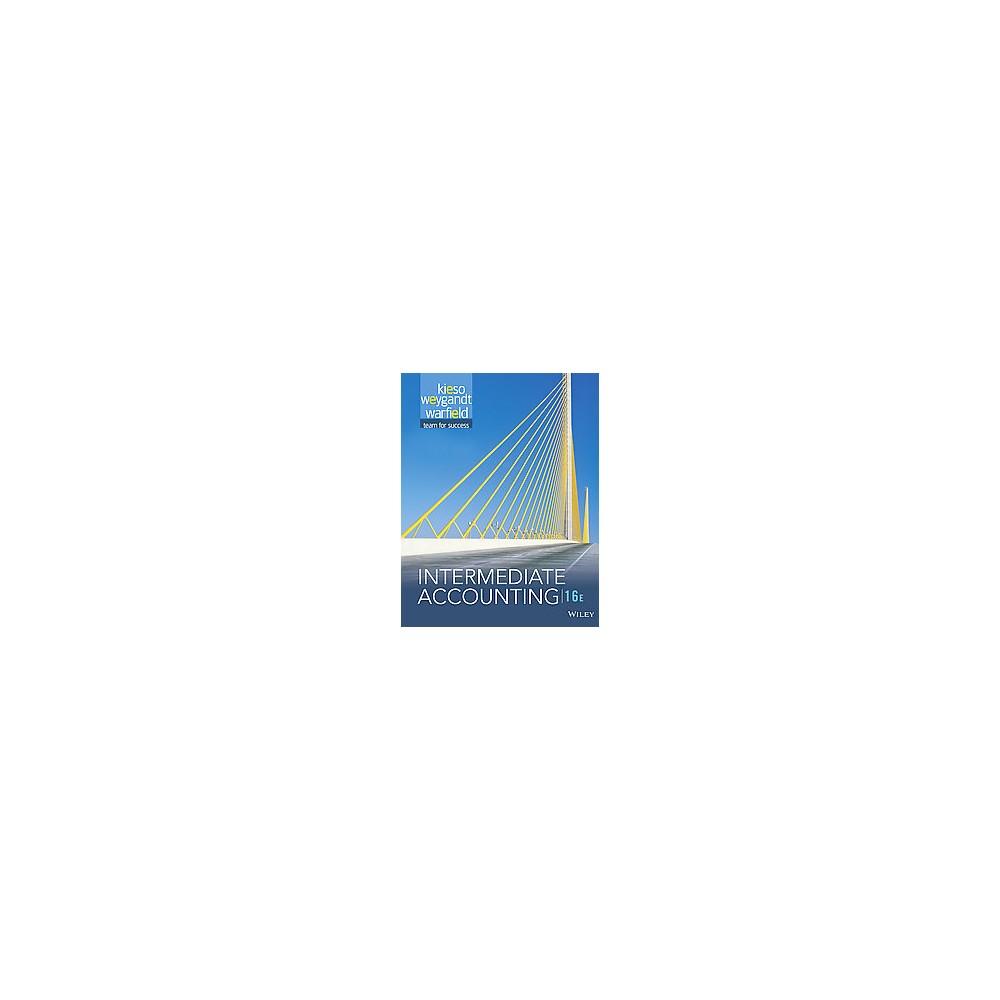 Intermediate Accounting (Hardcover) (Ph.D. Donald E. Kieso)