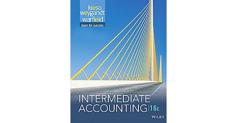 Intermediate Accounting (Hardcover) (Ph.D. Donald E. Kieso) - image 1 of 1