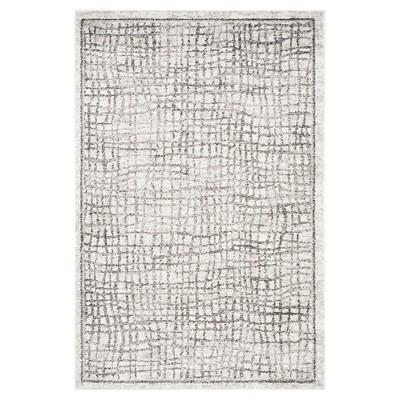 Adirondack Rug - Silver/Ivory - (4'x6')- Safavieh