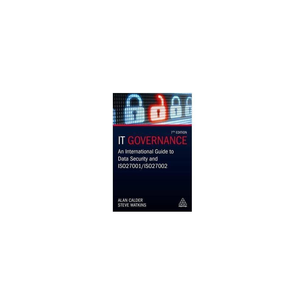 It Governance - 7 by Alan Calder (Hardcover)