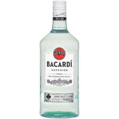 Bacardi White Rum - 1.75ml Plastic Bottle