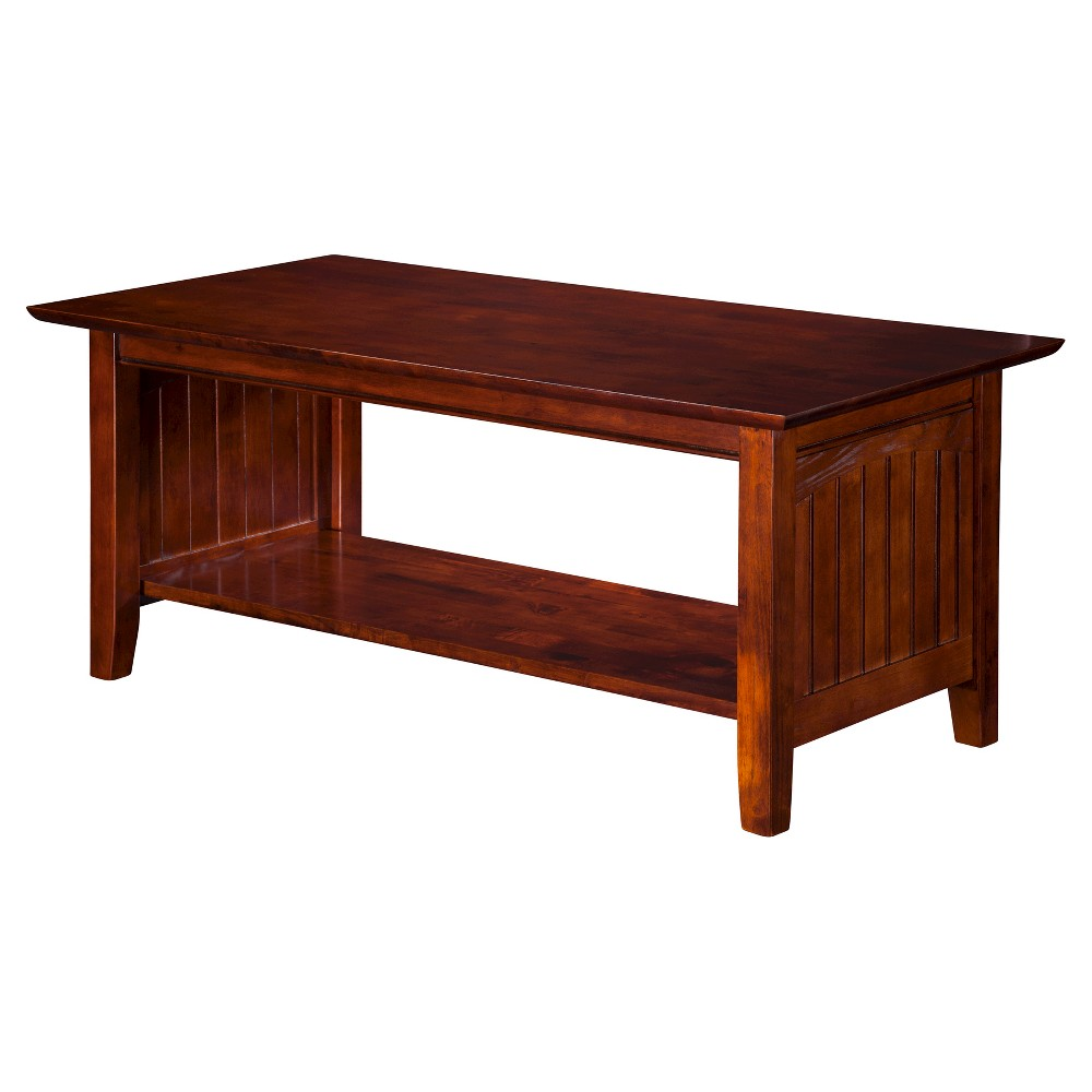 Nantucket Coffee Table - Walnut (Brown) - Atlantic Furniture