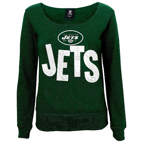 New York Jets Girls Open Neck Fleece L - image 1 of 1