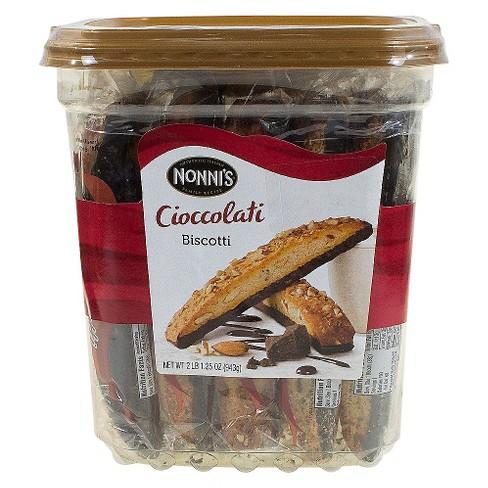Nonni's Cioccolati Biscotti - 2lbs - image 1 of 4