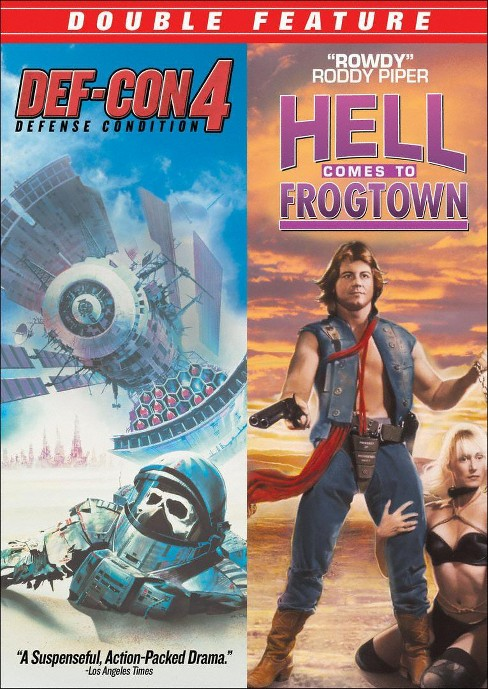 Def con 4/Hell comes to frogtown (DVD) - image 1 of 1