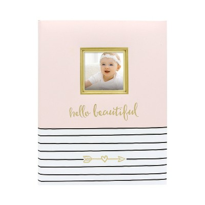Pearhead Hello Beautiful Baby Memory Book - Pink