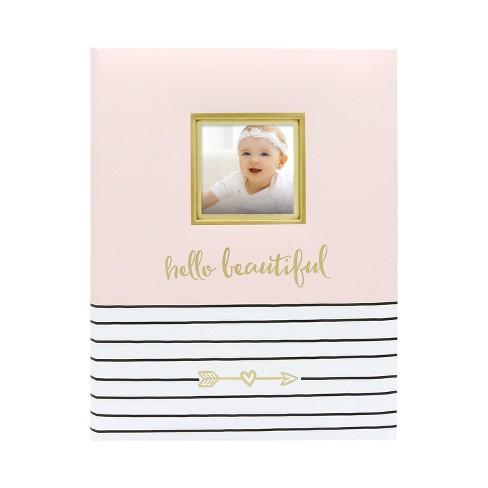 Pearhead Hello Beautiful Baby Memory Book - Pink - image 1 of 4