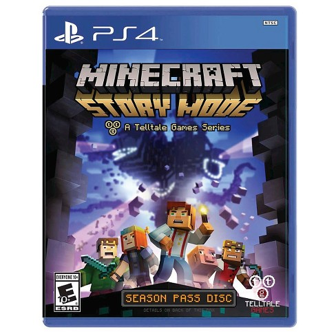 Minecraft: Story Mode Season Disc PlayStation 4
