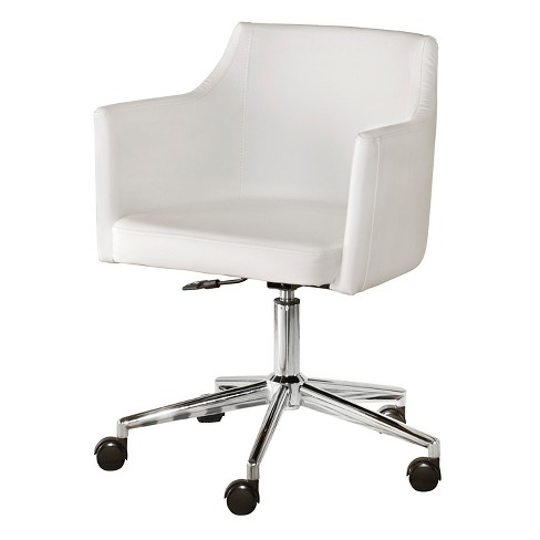 Baraga Home Office Swivel Desk Chair White - Signature Design by Ashley - image 1 of 3