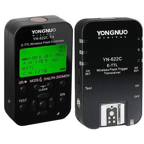 Yongnuo YN-622C-TX Wireless E-TTL Flash Trigger Kit with LED for Canon Cameras - image 1 of 1