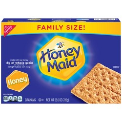 Honey Maid Graham Crackers Family Size - 25.6oz