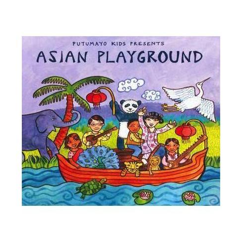 Various Artists - Putumayo Kids Presents: Asian Playground (CD) - image 1 of 2