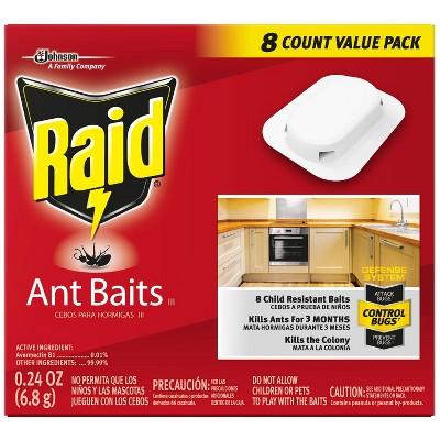 Raid Ant Baits III, 8ct