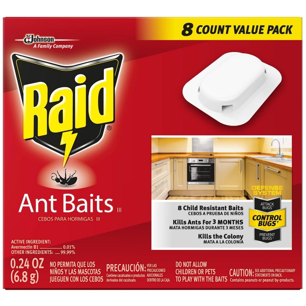 Image of Raid Ant Baits III, 8ct, pesticides