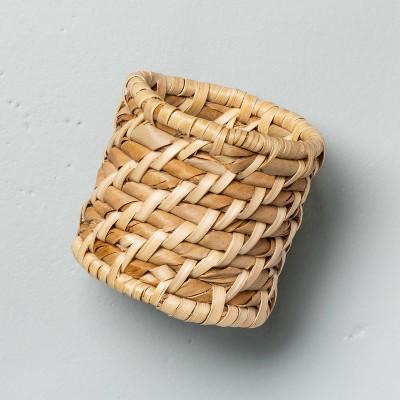 4pc Woven Napkin Ring Set - Hearth & Hand™ with Magnolia