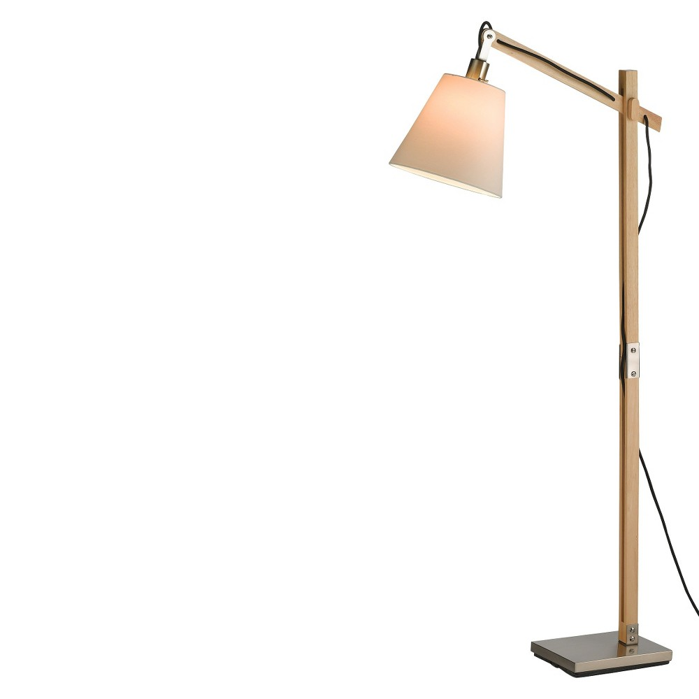 Image of Adesso Walden Floor Lamp Camel