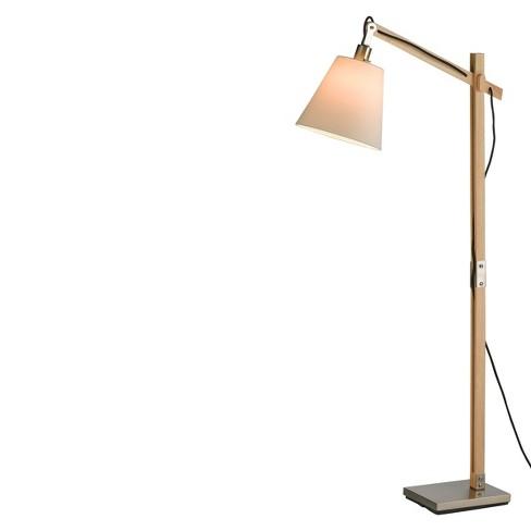 Adesso Walden Floor Lamp Camel - image 1 of 4