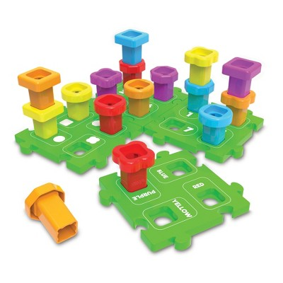The Learning Journey Techno Kids Stack A Peg 20 pieces