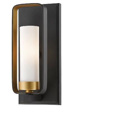"""10.25"""" Wall Light Sconce Bronze Gold - Z-Lite"""