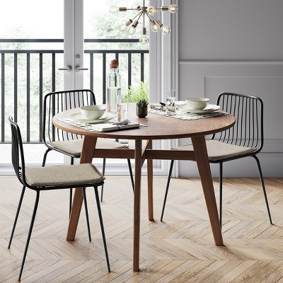 Mid-Century Modern Dining Room With Clean Lines & Accent ...