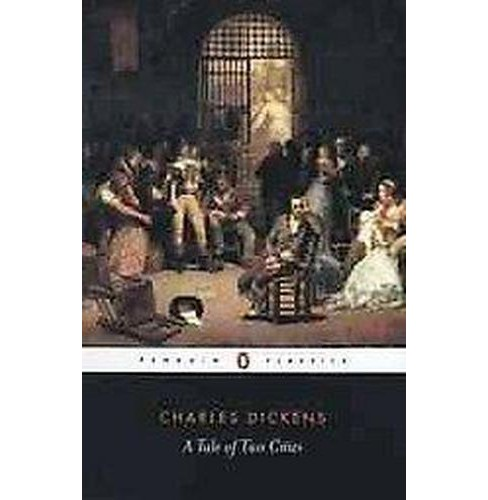 Tale of Two Cities (Reissue) (Paperback) (Charles Dickens & Richard Maxwell) - image 1 of 1