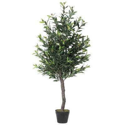 Artificial Olive Tree in Pot (50in)- Vickerman
