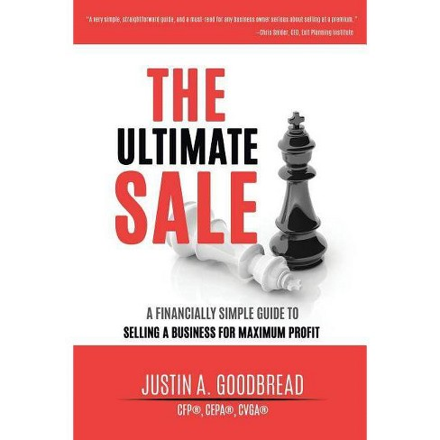 The Ultimate Sale - by  Justin Goodbread (Paperback) - image 1 of 1