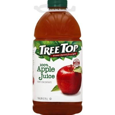 Tree Top 100% Apple Juice Family Size - 128 fl oz Bottle