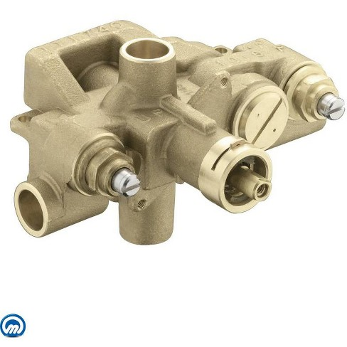 """Moen 3570 1/2"""" Sweat (Copper-to-Copper) Moentrol Pressure Balancing Rough-In Valve (With Stops) - image 1 of 1"""