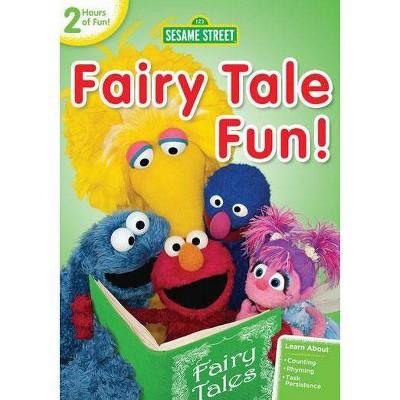 Sesame Street: Fairy Tale Fun! (DVD)(2013)