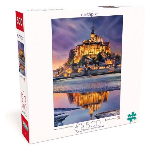 Buffalo Games Earthpix: France Mont Saint Michel Puzzle 500pc - image 1 of 4