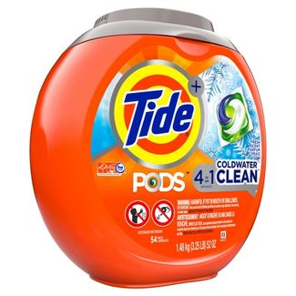 Tide PODS Coldwater Clean Laundry Detergent Pacs - 54ct