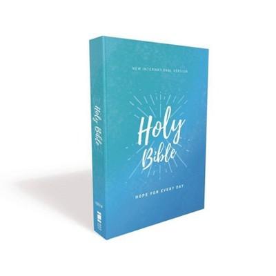 Niv, Holy Bible, Economy Edition, Paperback, Comfort Print - by  Zondervan
