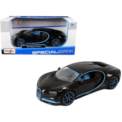 Bugatti Chiron 42 Black Limited Edition 1/24 Diecast Model Car by Maisto - image 1 of 1
